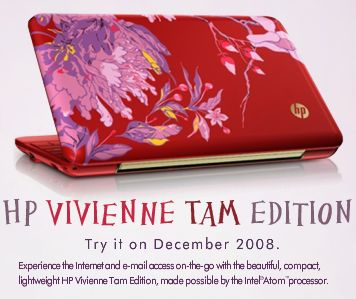 Netbook HP VIVIENNE TAM ( Limited Edition ) – Diobral di Malang